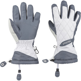 Marmot Moraine Guantes Mujer, steel onyx/bright steel